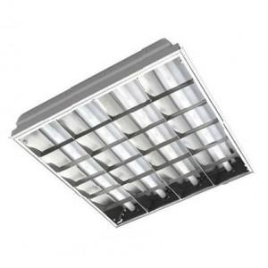 Светодиодный светильник LED ЛВО 40Вт с зеркальной решеткой