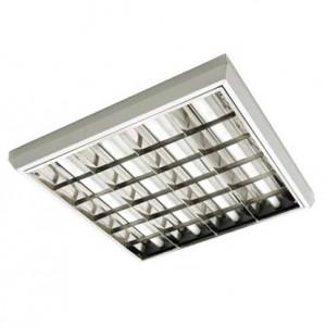 Светодиодный светильник LED ЛПО 40Вт с зеркальной решеткой