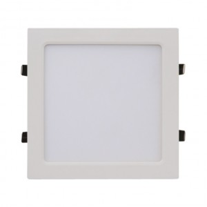 Светодиодная панель квадратная, SLP-eco 18Вт белая