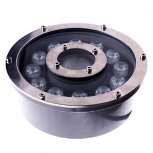 Подводный светильник для фонтанов и бассейнов 12Вт IP68
