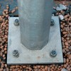 ОГК-7 опора освещения граненая коническая гор цинк фото 3