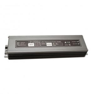 Блок питания герметичный 12В 200Вт 16,6А LED IP67