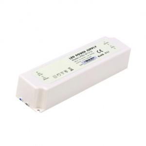 Влагозащищенный блок питания 12В 60Вт 5А LED IP67 Пластик