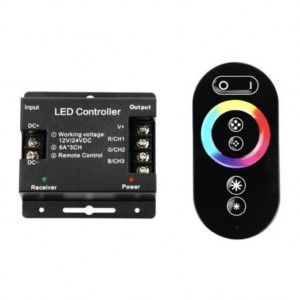 Сенсорный контроллер RGB для ленты TH05 ПДУ 18А