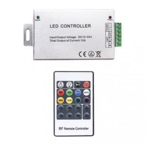 Контроллер для светодиодной ленты Т667 12А радио 20кн