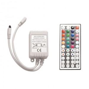 Мини контроллер RGB IR04 6A для светодиодной ленты