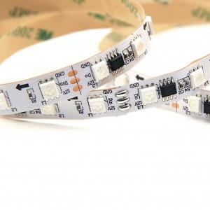 Светодиодная лента бегущий огонь MAGIC-E RGB 12V 60 LED 5050 SMD 14,4W IP20