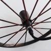 Люстра в виде колеса от телеги EL-WHEEL Е27 Лофт фото 8