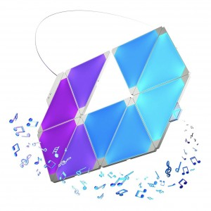 Nanoleaf Aurora light panels с модулем Rhythm Smarter Kit