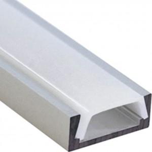 Накладной алюминиевый профиль для светодиодной ленты PAL 1506
