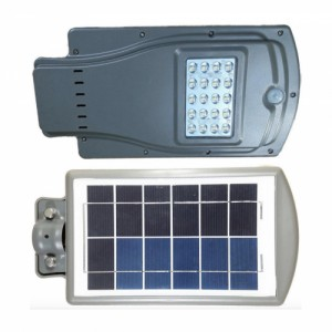 Уличный светодиодный светильник на солнечной батарее Solar 20 Вт c датчиком движения