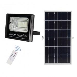 Прожектор на солнечных батареях уличный светодиодный 25 Вт Solar-FL-25