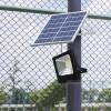 Прожектор на солнечных батареях уличный светодиодный 25 Вт Solar-FL-25 фото 2