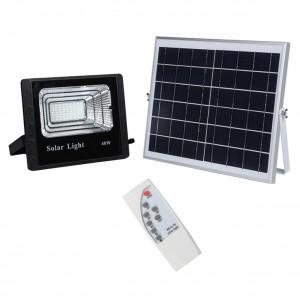 Прожектор на солнечных батареях уличный светодиодный 40 Вт Solar-FL-40