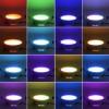 RGB светильник потолочный с пультом RLP-RGB-5 5Вт КРУГЛЫЙ фото 5