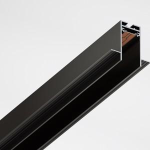 Встраиваемый магнитный шинопровод для светильников Magnetic Track v34 1м