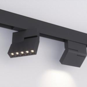 Поворотный трековый магнитный светильник EL-MAG-PRO-34-45 10W угол 45 градусов
