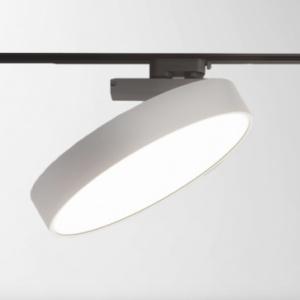 Круглый трековый светильник на трехфазный шинопровод EL-ROUND-30 30W