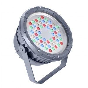Прожектор BVP324 54LED 30K 220В 30 DMX 110Вт RGB