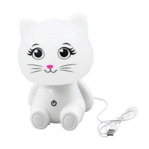 Светильник настольный кот USB