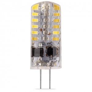 LED лампа G4 12V 25YJC-12-2.5G4 2,5W JC 3000K Теплый свет