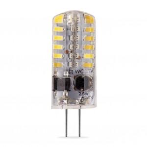 LED лампа G4 220V 25YJC-230-2.5G4 2,5W JC 3000K Теплый свет