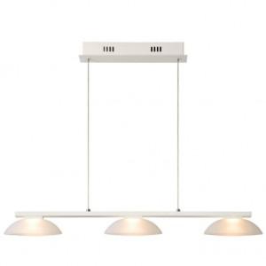 Подвесная светодиодная люстра Lucide Mamba 09400/14/31 13.5Вт Белая 3 лампы